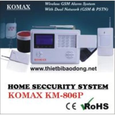 Báo động chống trộm không dây KOMAX KM-806P