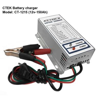 Nạp ắc quy 12V CTEK CT-1215 khử Sunfas chống ngược cực